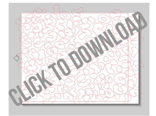 Free leopard print silhouette template via lilblueboo.com #silhouette