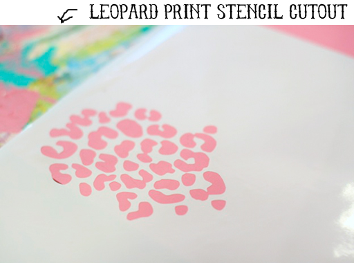 How to make a stencil (silhouette project ideas) via lilblueboo.com