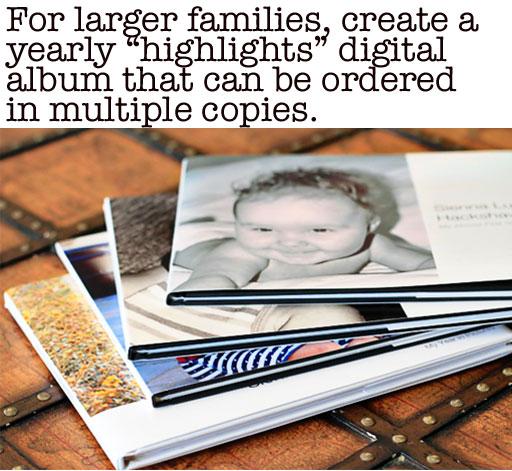 Digital Photo Books vs Photo Albums via lilblueboo.com