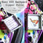 Backpack Zipper Pulls