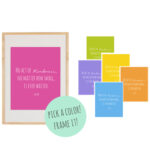 Kindness Quote 8x10 Art Printables