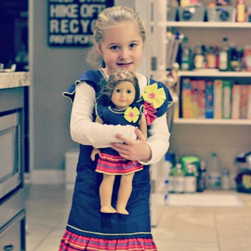 American Girl Clothes Matching (this was only $19!) via lilblueboo.com