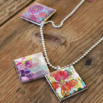 Mini Art Print Necklace