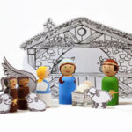 Christmas Nativity Peg Dolls