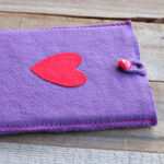 Needle Felted iPad Cover