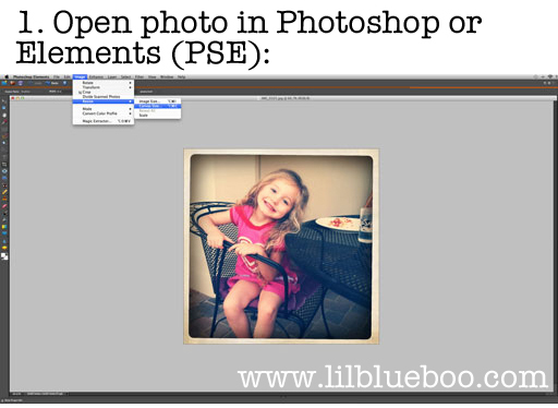 How to Print Instagram at Costco or any other photo center via lilblueboo.com