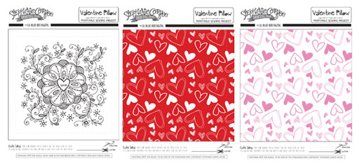 Valentine's Day Printables by Stephanie Corfee via lilblueboo.com