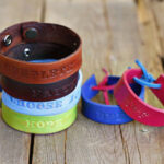 Stamped Leather Cuffs