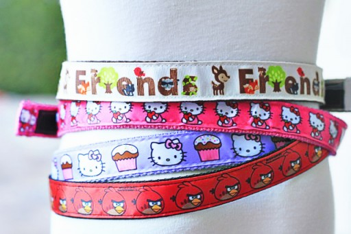 Easy DIY Belts (ribbon project ideas) via lilblueboo.com