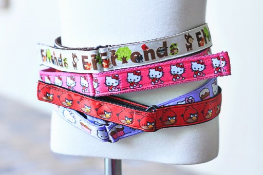 DIY toddler belts with velcro via lilblueboo.com