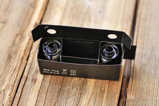 How to add film to the pinhole camera via lilblueboo.com