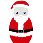 Santa Nesting Doll Graphic
