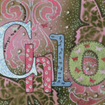 Adding Bling to Nursery Art