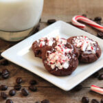 Peppermint Mocha Cookies