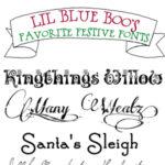 Festive Free Fonts