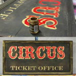 GILDED CIRCUS SIGN