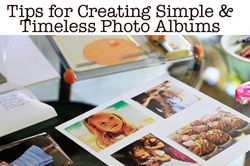 creating family albums via lilblueboo.com