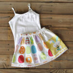 Skirt from Easter Dishtowel