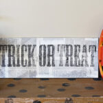 Distressed Halloween Sign