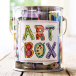 Art Box Label