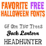 favorite free halloween fonts