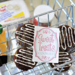 Felt Cookie Label