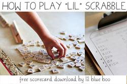 free kid scrabble download via lilblueboo.com