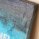 Glazed Distressed Painting