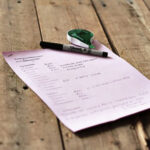Montly Household Worksheet