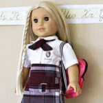 "Matching School Uniform for 18"" Doll"