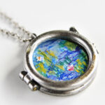 Miniature Locket Painting