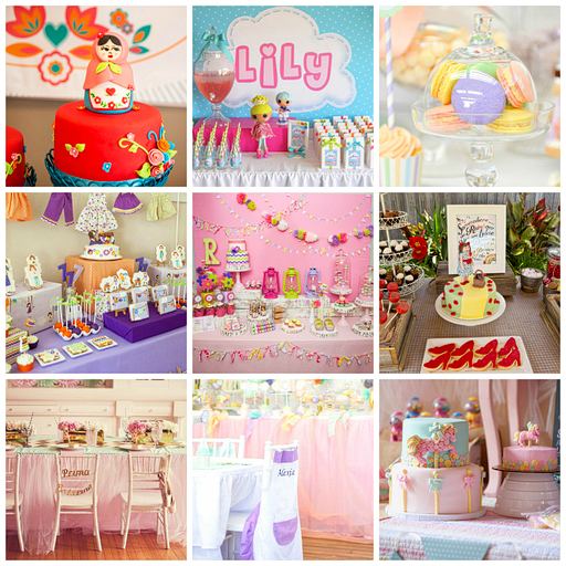 Fun Birthday Party Ideas And Themes For Girls Via Lilblueboo