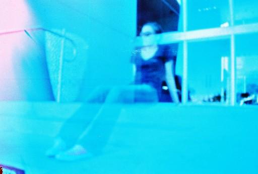 Self portrait using pinhole camera via lilblueboo.com