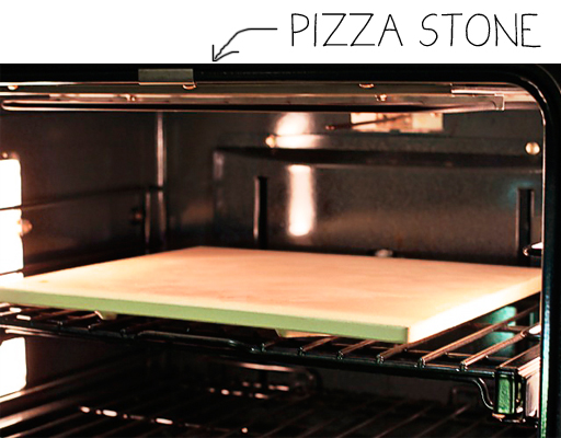 How to use a pizza stone via lilblueboo.com