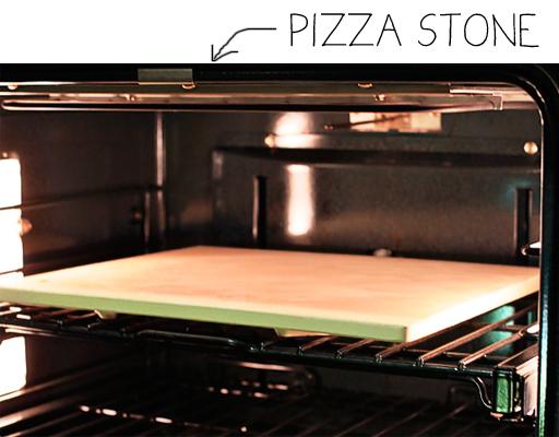 How to use a pizza stone via lilblueboo.com