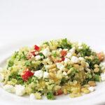 Quinoa Tabouli (or Tabouleh)