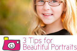 tips for taking better portraits via lilblueboo.com