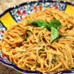 Tomato Basil Cream Pasta