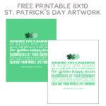 St. Patrick's Day 8x10 Art Printables