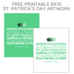 St. Patrick's Day 8x10 Printable Art