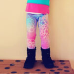 Spray Painted Leggings