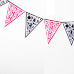 Printed Canvas Bunting