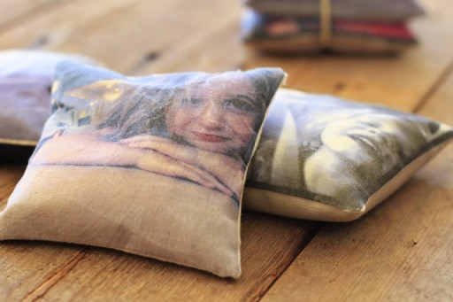 Make Personalized Photo Pillows via lilblueboo.com