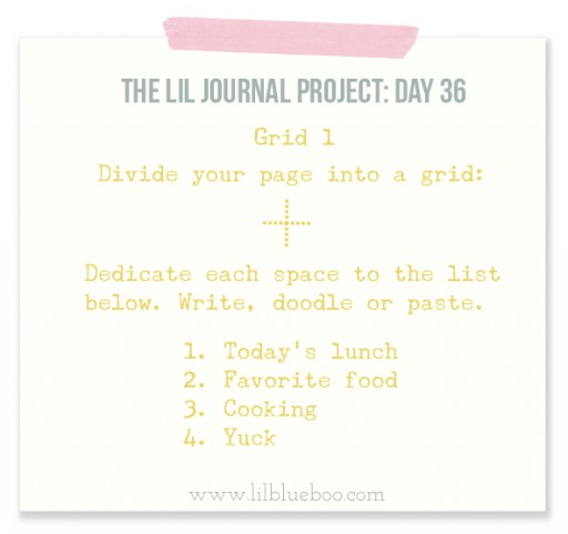 Lil Journal Project Day 36 via lilblueboo.com #theliljournalproject #artjournal