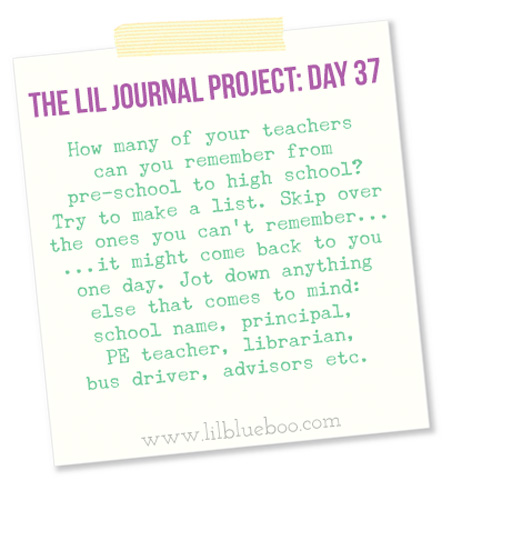 The Lil Journal Project Day 37 #diy #artjournal #theliljournalproject