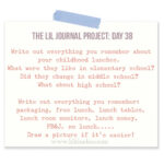The Lil Journal Project Day 38 via lilblueboo.com