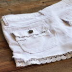 Adding Lace to Shorts