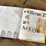 Turn a Book into An Art Journal