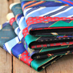 Photo Albums Made from Men's Ties