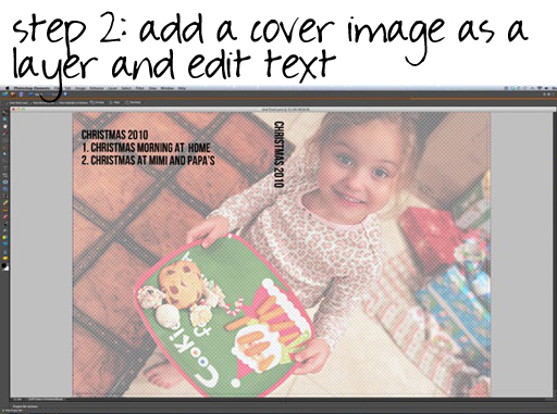 How to make a DVD cover insert via lilblueboo.com (photoshop template download)